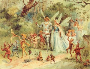 Fairy King and Queen, 1910