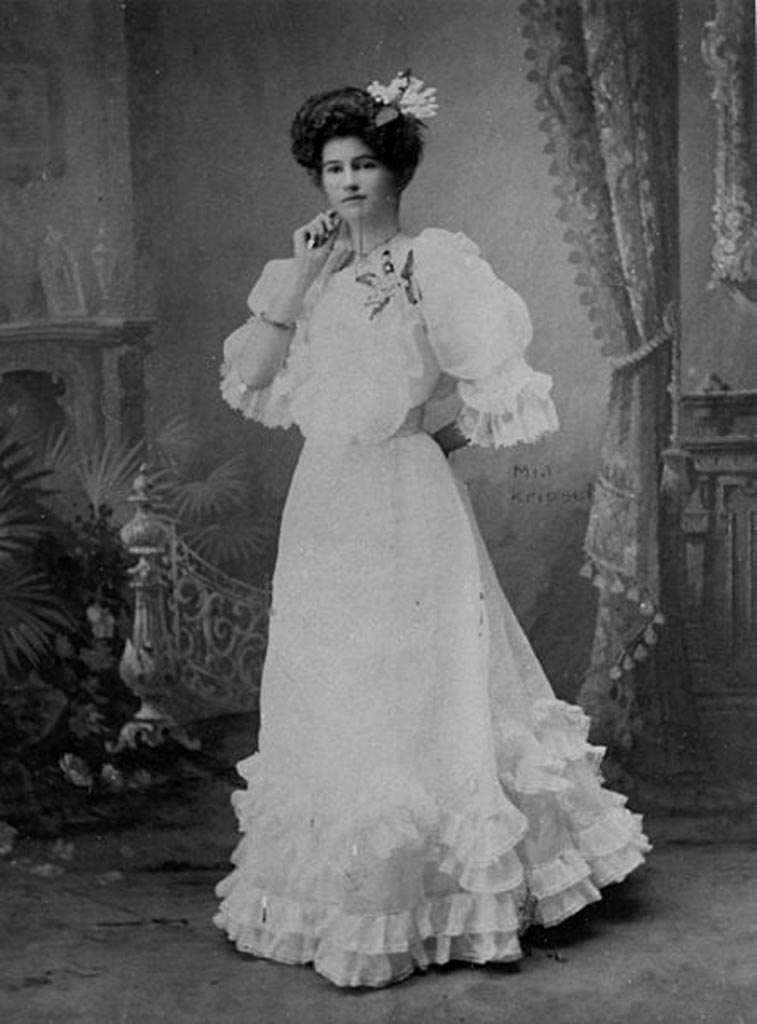 Minnie Kriesel, ok. 1900, Creative Commons