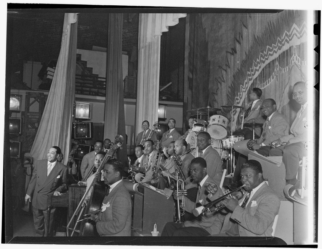 Orkiestra Duke'a Ellingtona w Cotton Club 1940,  fot: library of congress, lic. CC